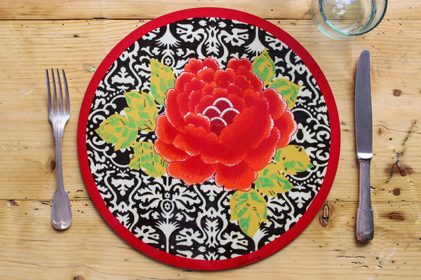Sunrise Placemat - Black