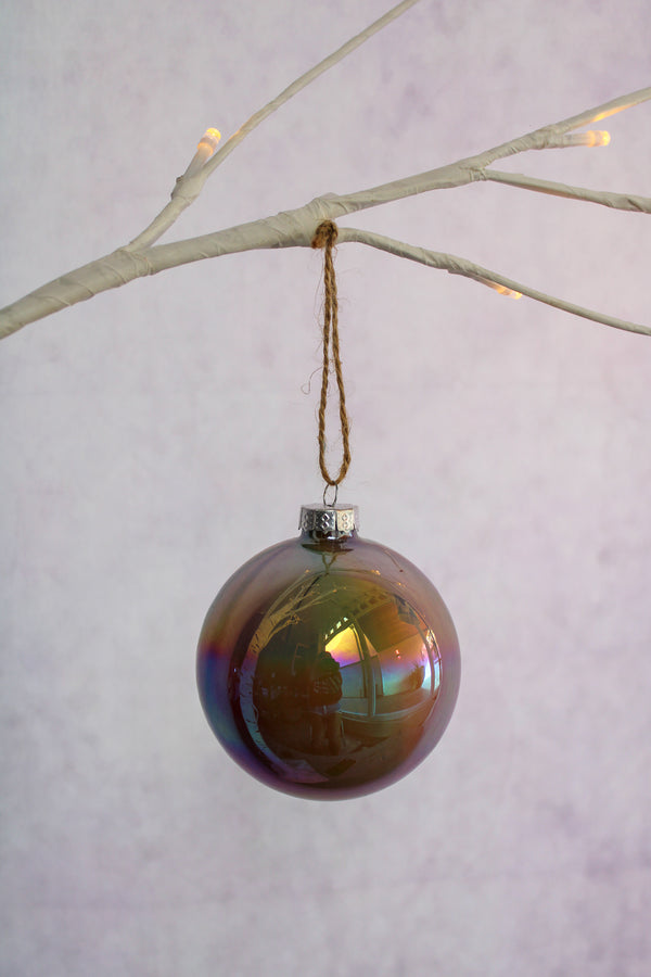 Painterly Ball Ornament