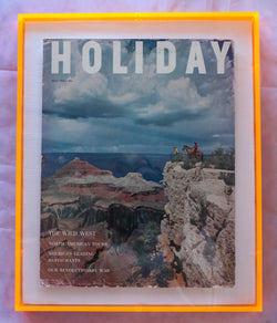 "Framed Holiday Magazine Cover - July 1954, ""The Wild West"""