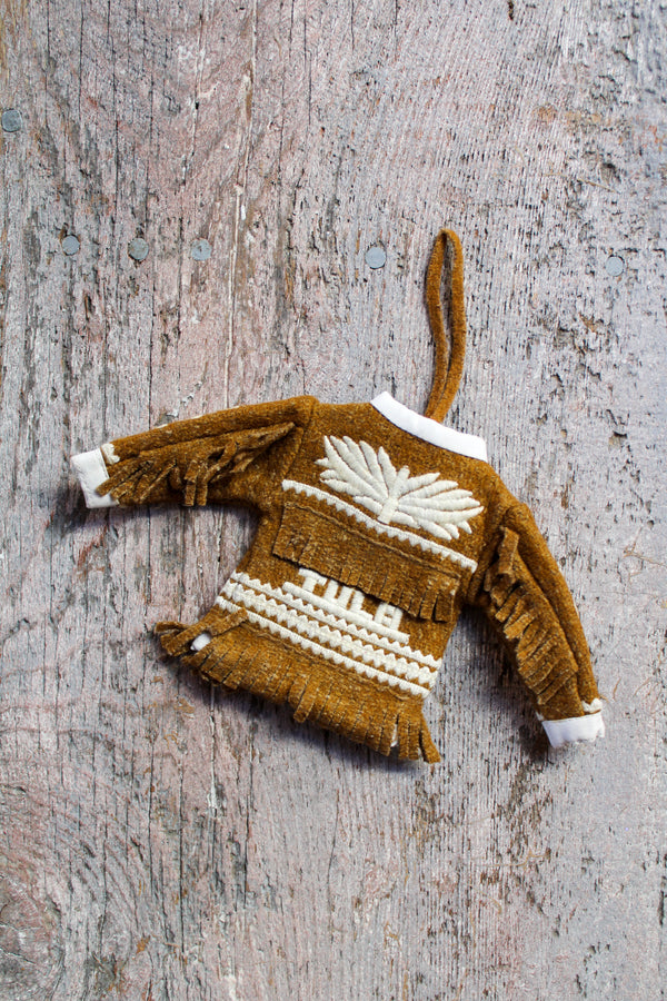 Wild West Jacket Ornament