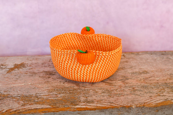 Tabletop Mini Basket - Orange