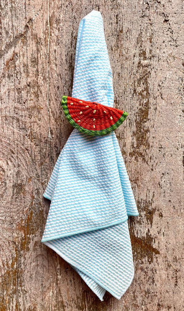 Woven Fruit Napkin Ring - Watermelon