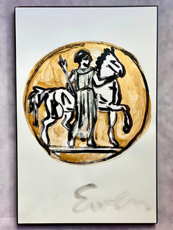 Gold Coin with Horse
