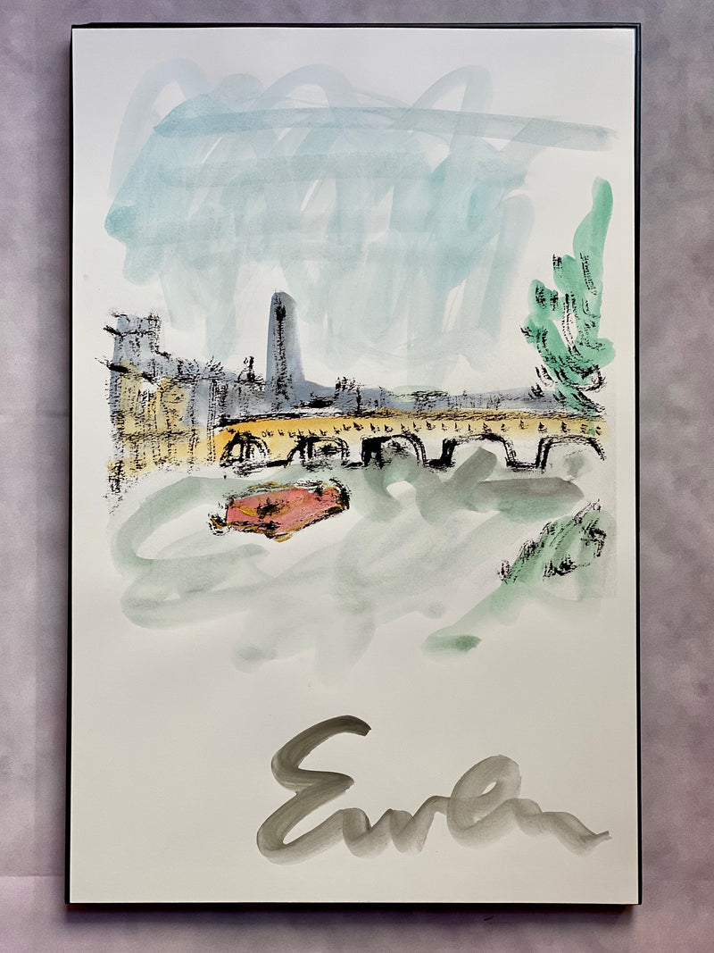 Paris Seine Scene