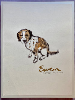 Truffle Giclee Print with Gold Signature