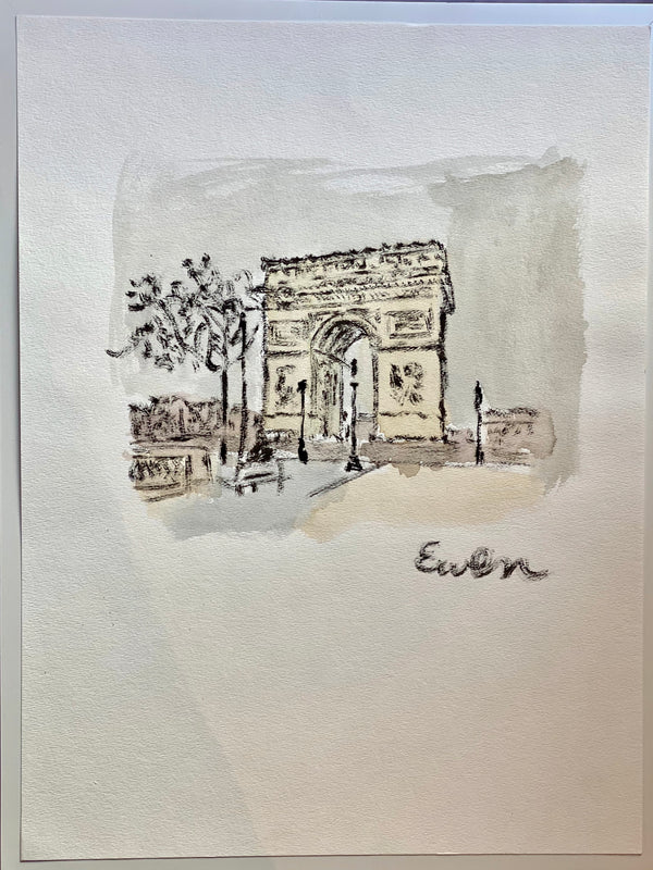Paris - Arc de Triomphe (Original)