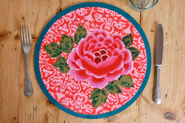 Sunrise Placemat - Coral