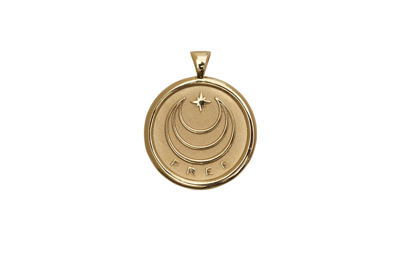 Coin Pendant Necklace - Free