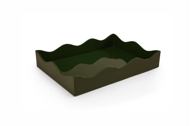 Rita Konig Belles Reeves Lacquer Tray, MEDIUM