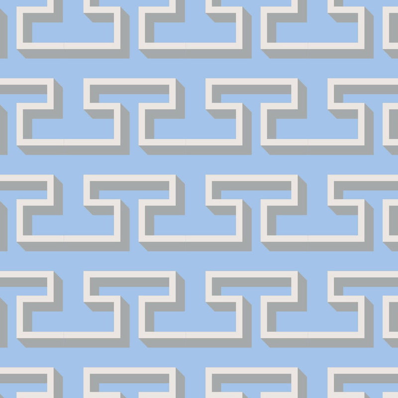 Patterned Paper - Attic Hammer Frieze