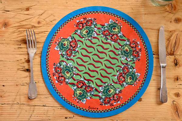 Tiger Touch Placemat - Green