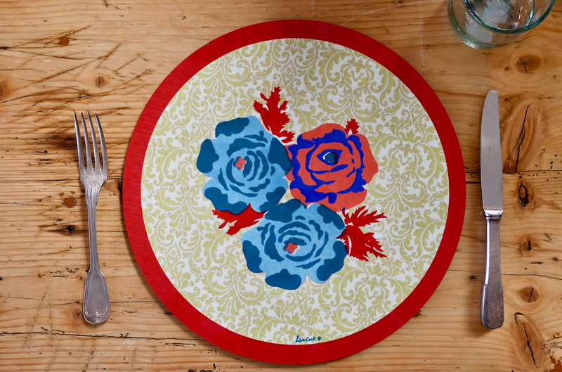 Poppy Placemat - Acid Green