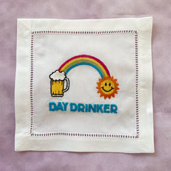 Day Drinker Cocktail Napkin Set