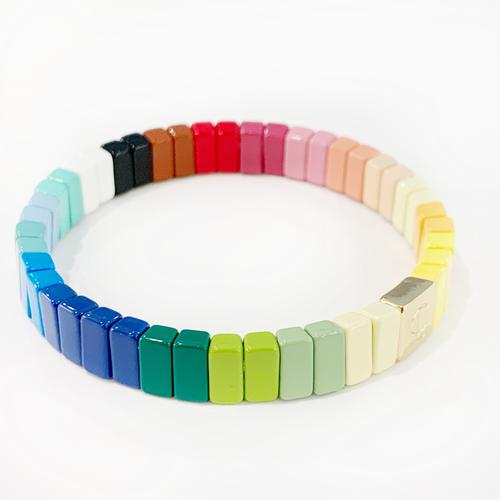Color Tile Bracelet - Colorburst