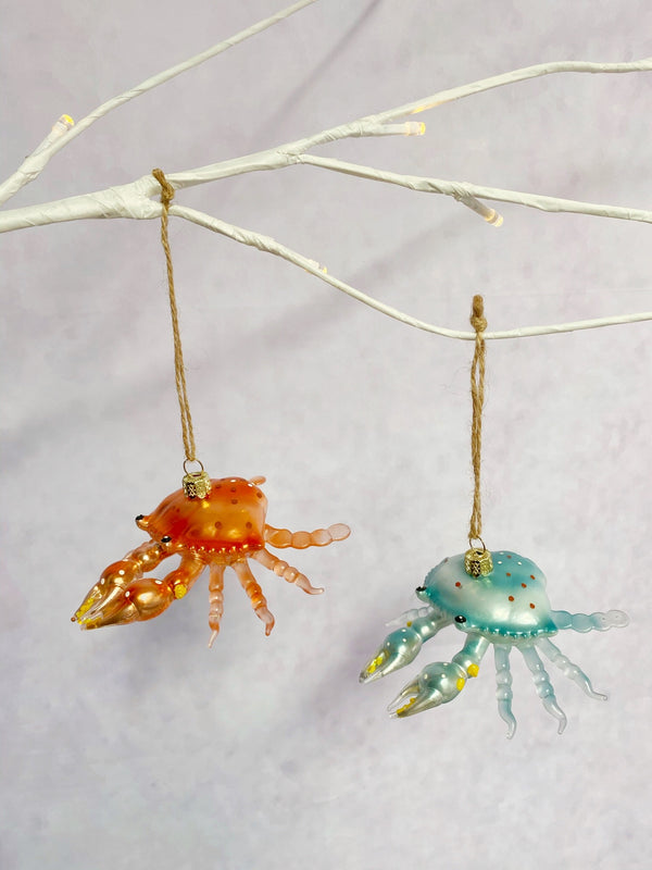 Seaside Crab Ornament