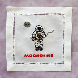 Moonshine Cocktail Napkin Set