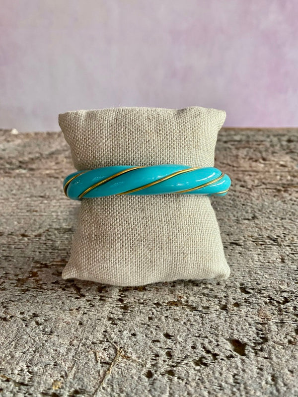 Diana Cuff Bracelet - Turquoise