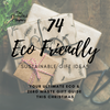 Download Your Ultimate Eco & Zero Waste Christmas Gift Guide: 74 Sustainable Gift Ideas