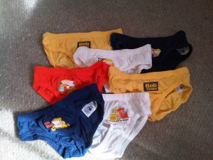 Bob the Builder toddler knickers