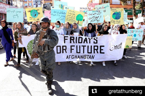 Climate Strikes in Afghanistan