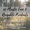 Contented Company | Eco & Zero Waste | 63 Plastic Free & Reusable Products for Plastic Free July | 63 Plastic Free & Reusable Products for Plastic Free July