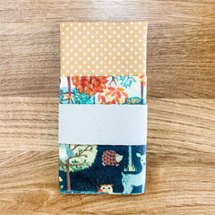 Contented Earth Beeswax Wraps (Pack of 3) - £15.50