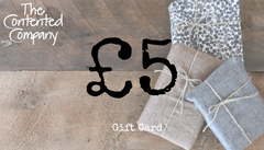 The Contented Company Gift Card - From £5