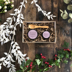 Plant-based Skincare: Cleanse & Glow Luxury Stocking Filler (Limited Edition), by Meadow Skincare - £15