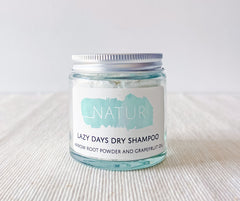 Natural, Plastic Free Dry Shampoo, by Natur - £10