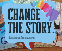 Gift Box of 2 Books for either 0-3 or 4-7 Year Olds, from Little Box of Books - £19.99