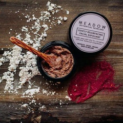 Plant-based Skincare: Gently Resurfacing Facial Exfoliant, by Meadow Skincare - £28
