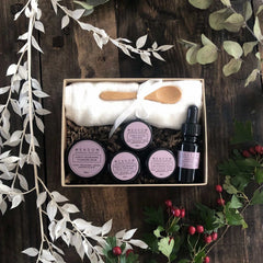 Plant-based Skincare: Facial in a Box Luxury Starter Kit, by Meadow Skincare - £35