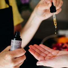 Plant-based Skincare: Overnight Replenishing Oil, by Meadow Skincare - £35