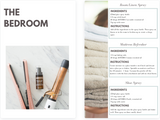 The Bedroom | Green Cleaning with Essential Oils | The Contented Company | Eco Friendly & Zero Waste | Nat Leeman DoTERRA