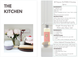The Kitchen | Green Cleaning with Essential Oils | The Contented Company | Eco Friendly & Zero Waste | Nat Leeman DoTERRA