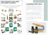 Cleaning Products | Green Cleaning with Essential Oils | The Contented Company | Eco Friendly & Zero Waste | Nat Leeman DoTERRA