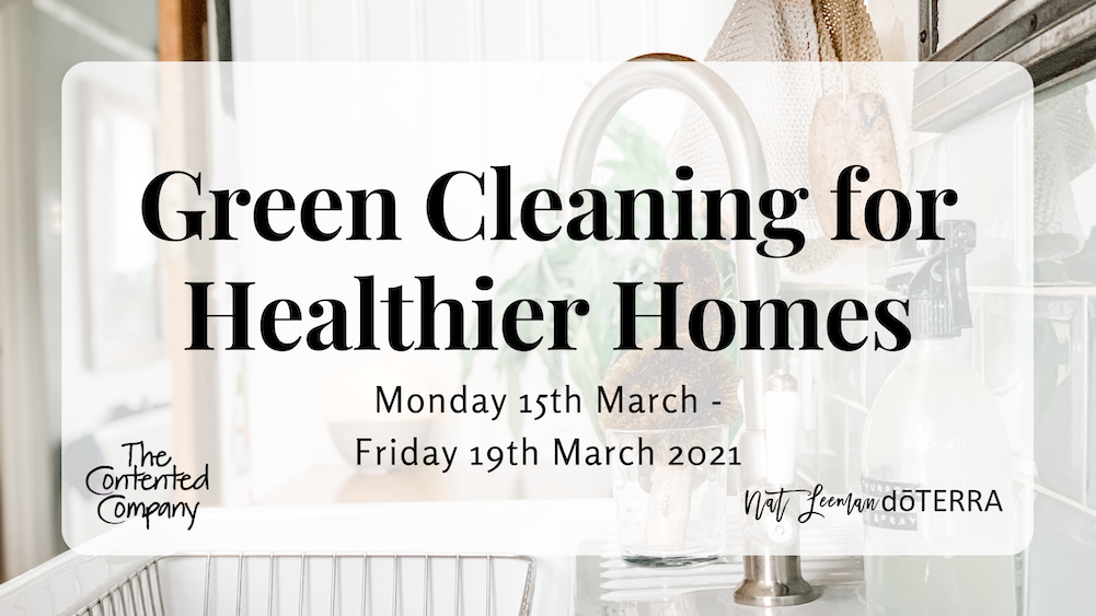 Green Cleaning for Healthier Homes