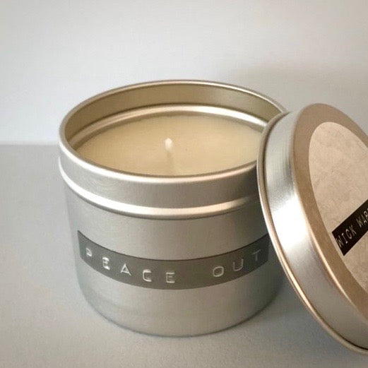 Hand Poured Organic Soy Wax Candles (225ml), by Wick Warriors