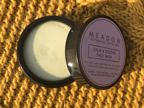 Plant-based Skincare: Natural Calm & Soothe Face Mask, by Meadow Skincare