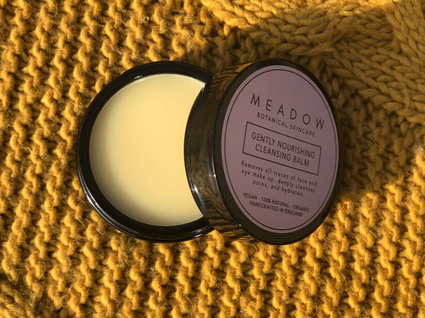 Plant-based Skincare: Gently Nourishing Cleansing Balm, by Meadow Skincare