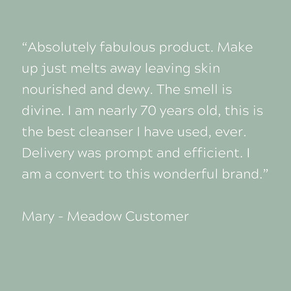 Plant-based Skincare: Cleanse & Glow Luxury Stocking Filler (Limited Edition), by Meadow Skincare