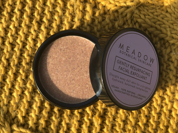 Plant-based Skincare: Gently Resurfacing Facial Exfoliant, by Meadow Skincare