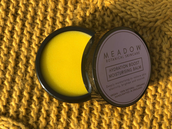Plant-based Skincare: Hydration Boost Moisturising Face Balm, by Meadow Skincare