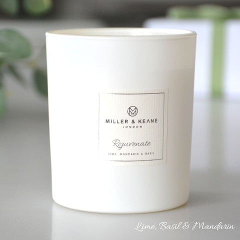 Plastic Free Hand Poured Luxury Soy Wax Candles, by Miller & Keane