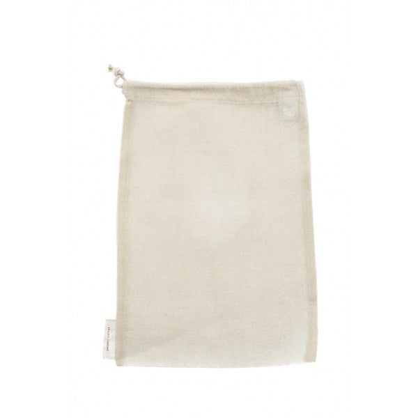 Reusable Organic Cotton Nut Milk / Produce Bag, by Re-Sack