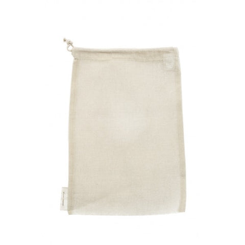 Organic Cotton Nut Milk / Produce Bag, by Re-Sack