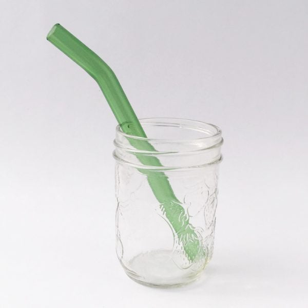 Reusable Plastic-Free Glass Straw, by Strawesome - Just for Kids