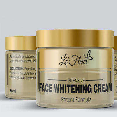 Le'Fleur Intensive Face Whitening Cream- 60ml