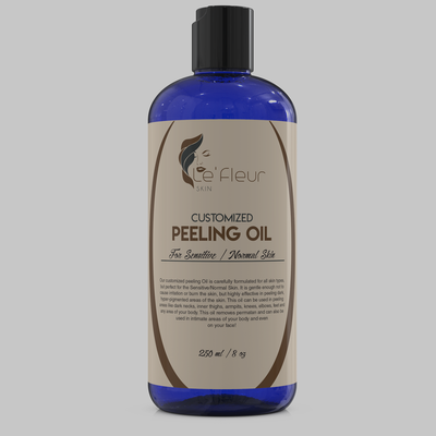 Le'Fleur Customized Peeling Oil- For Sensitive/Normal Skin- 250ml/8oz