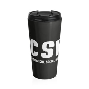 LCSW  Stainless Steel Travel Mug